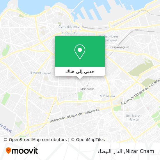 خريطة Nizar Cham