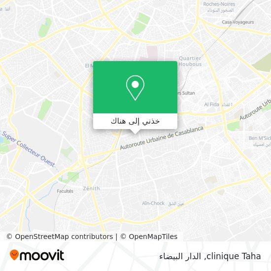 خريطة clinique Taha