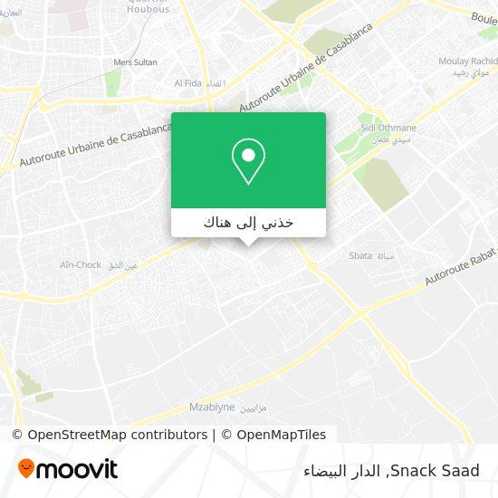 خريطة Snack Saad
