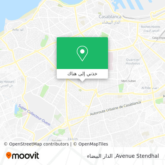 خريطة Avenue Stendhal