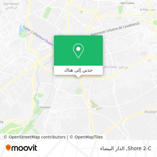 خريطة Shore 2-C
