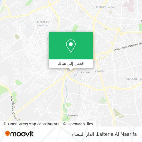 خريطة Laiterie Al Maarifa