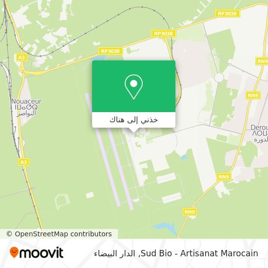 خريطة Sud Bio - Artisanat Marocain