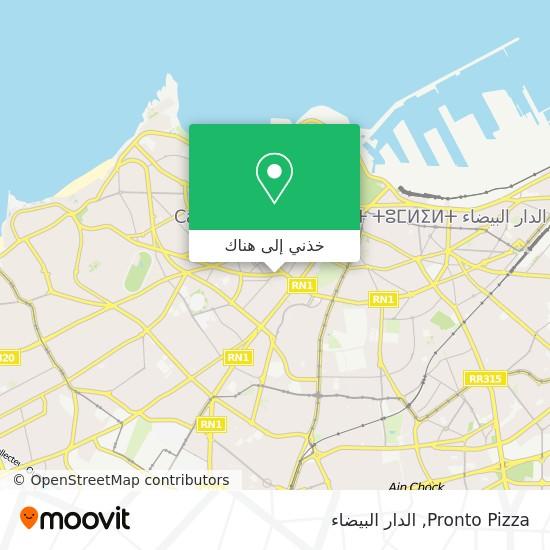 خريطة Pronto Pizza