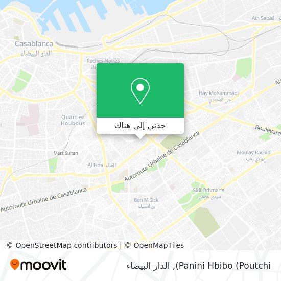 خريطة Panini Hbibo (Poutchi)
