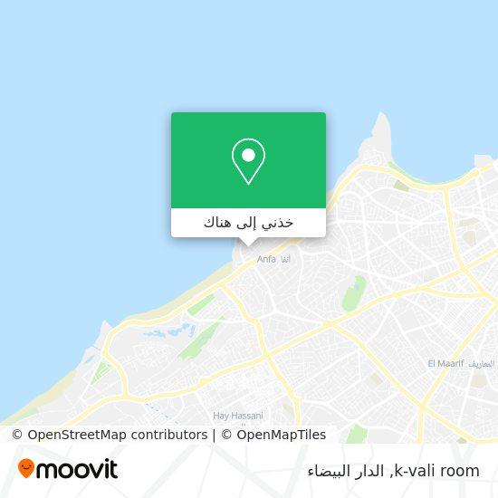 خريطة k-vali room