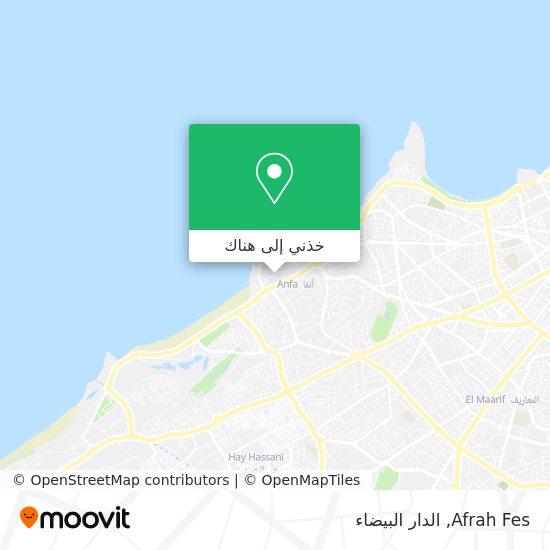 خريطة Afrah Fes