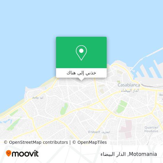 خريطة Motomania