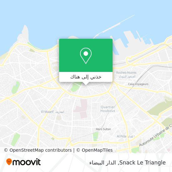 خريطة Snack Le Triangle