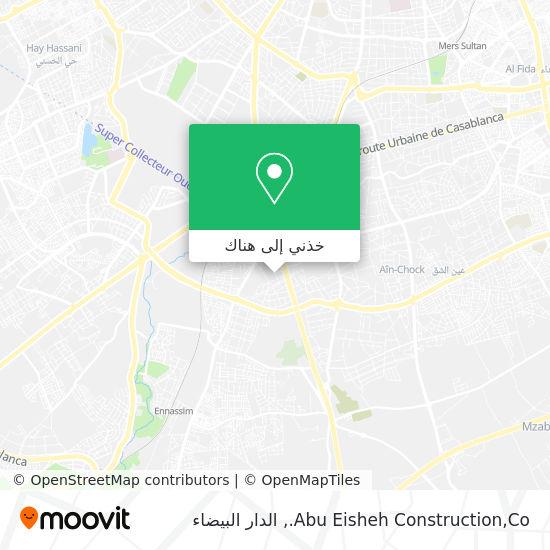 خريطة Abu Eisheh Construction,Co.
