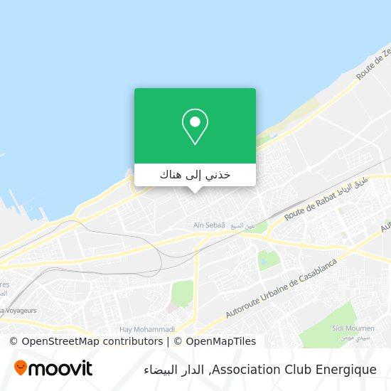 خريطة Association Club Energique