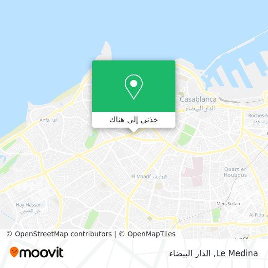 خريطة Le Medina