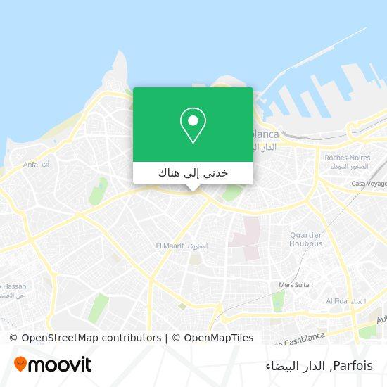 خريطة Parfois