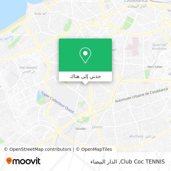 خريطة Club Coc TENNIS