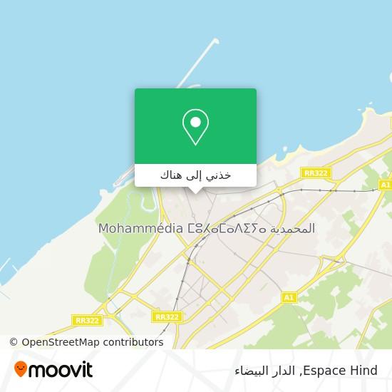 خريطة Espace Hind