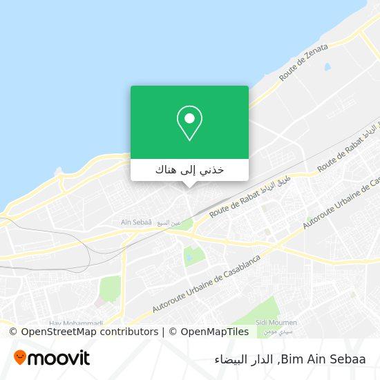 خريطة Bim Ain Sebaa