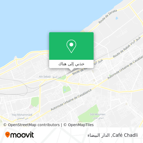 خريطة Café Chadli