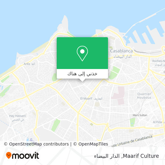 خريطة Maarif Culture