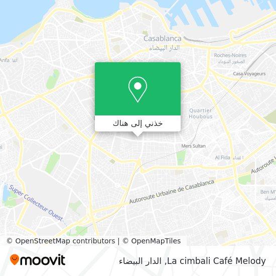 خريطة La cimbali Café Melody