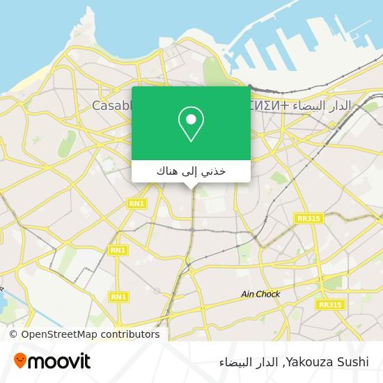 خريطة Yakouza Sushi