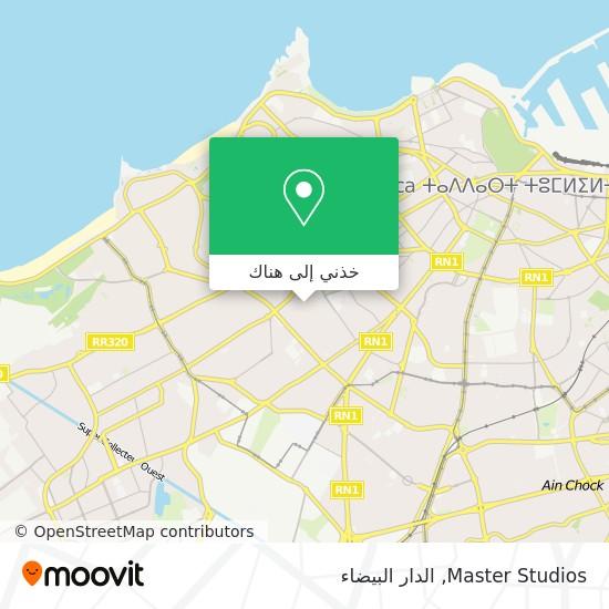 خريطة Master Studios