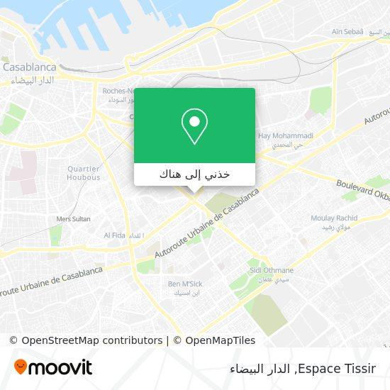 خريطة Espace Tissir