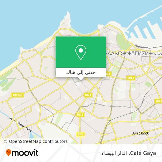 خريطة Café Gaya