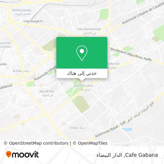 خريطة Cafe Gabana