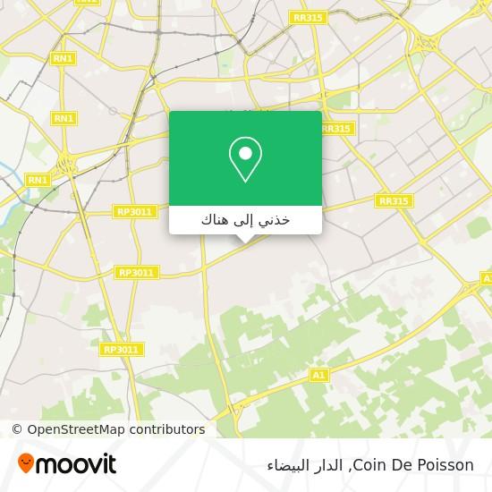 خريطة Coin De Poisson