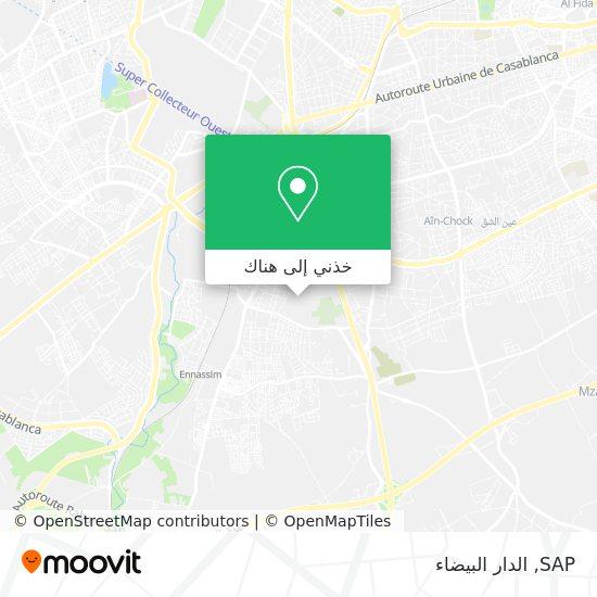 خريطة SAP
