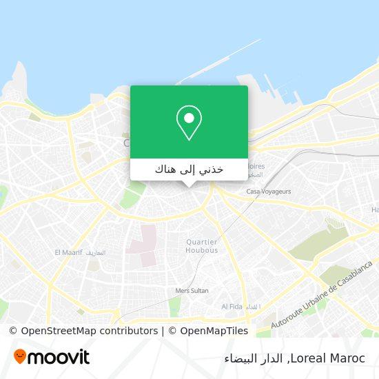 خريطة Loreal Maroc