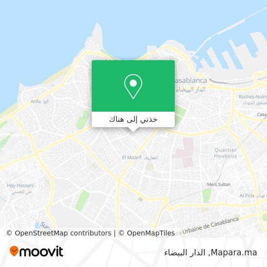 خريطة Mapara.ma