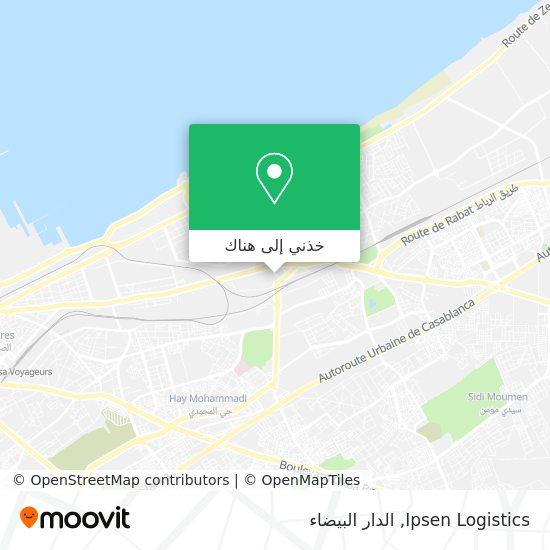 خريطة Ipsen Logistics