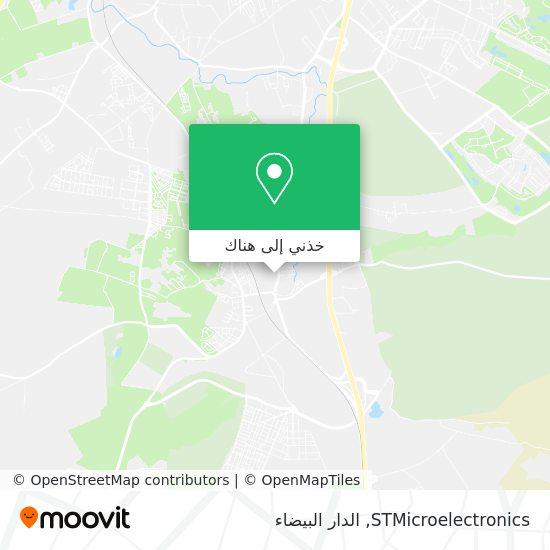 خريطة STMicroelectronics
