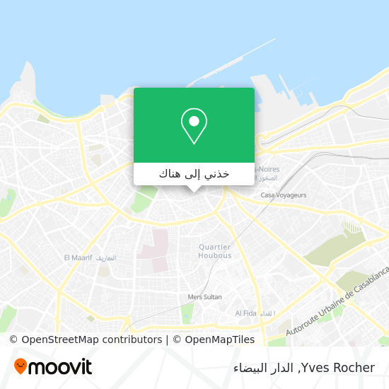 خريطة Yves Rocher