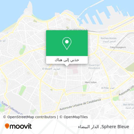 خريطة Sphere Bleue