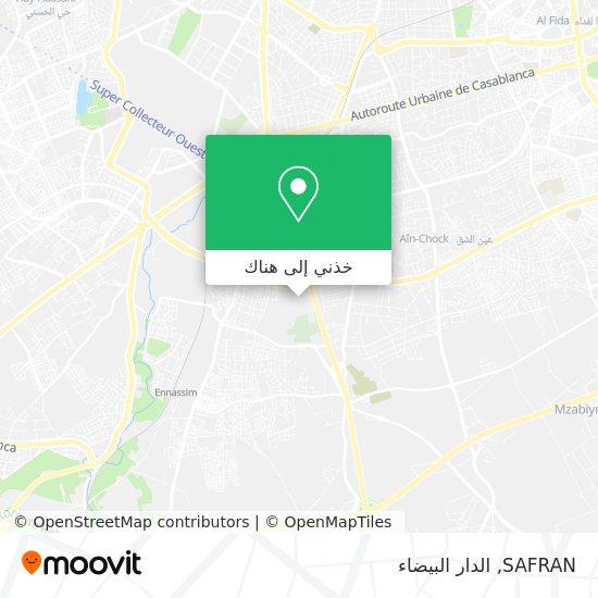 خريطة SAFRAN