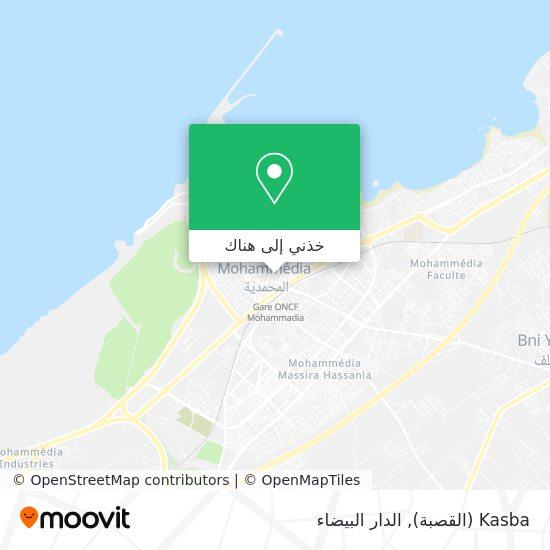خريطة Kasba (القصبة)