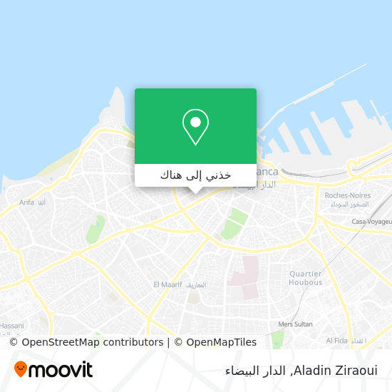 خريطة Aladin Ziraoui