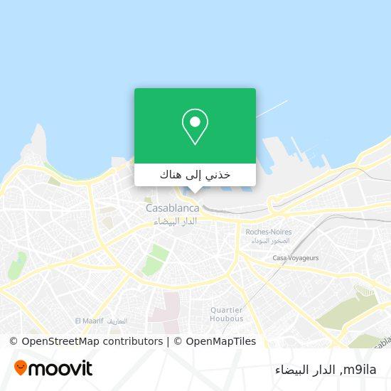 خريطة m9ila