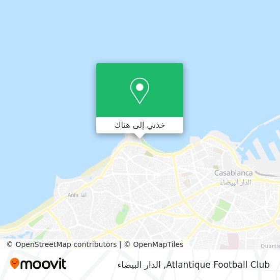 خريطة Atlantique Football Club