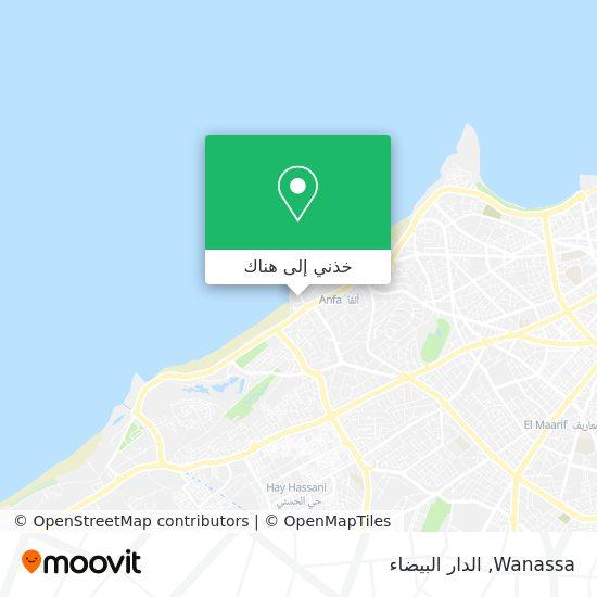 خريطة Wanassa