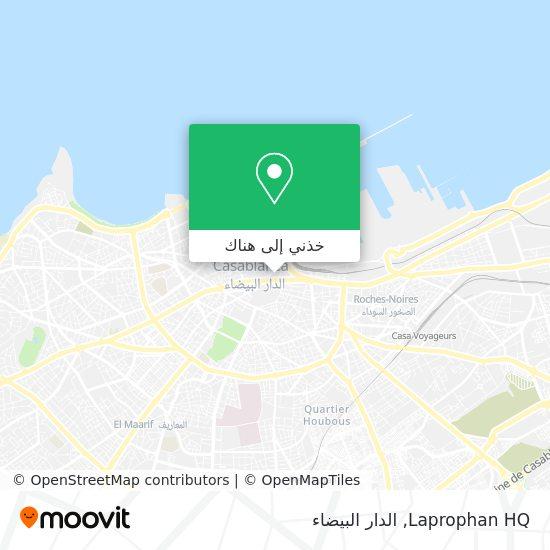 خريطة Laprophan HQ
