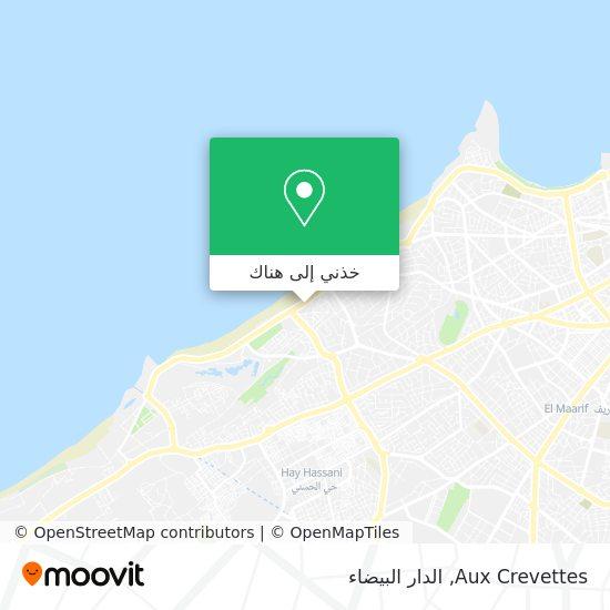 خريطة Aux Crevettes