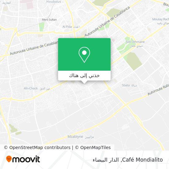 خريطة Café Mondialito