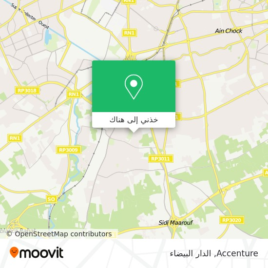 خريطة Accenture