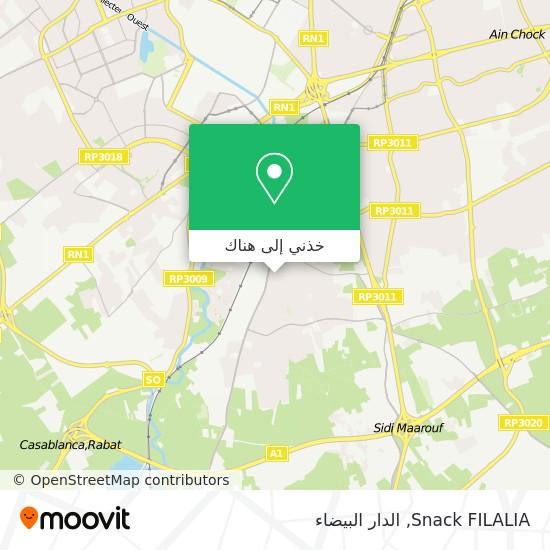 خريطة Snack FILALIA