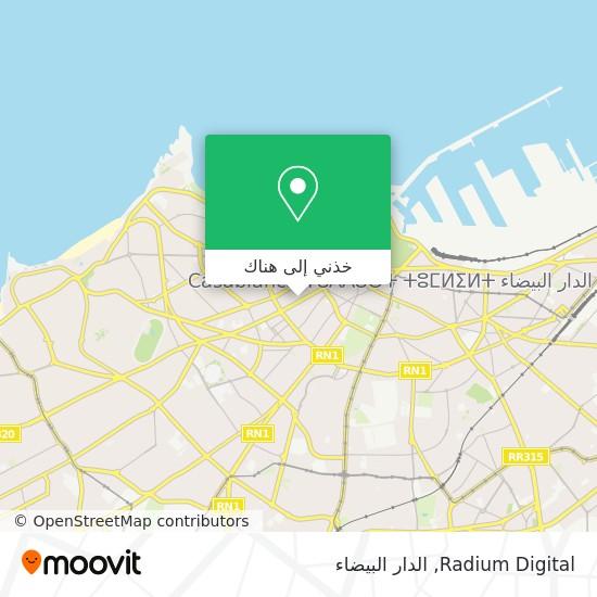 خريطة Radium Digital