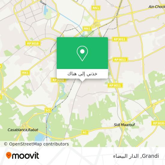 خريطة Grandi