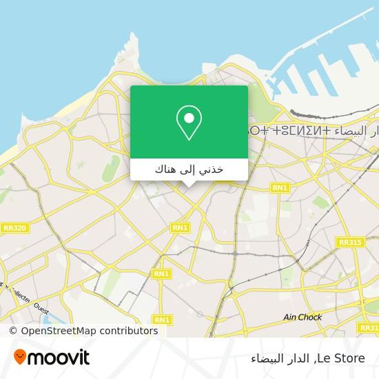 خريطة Le Store